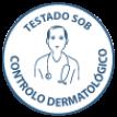Testado sob controlo dermatológico