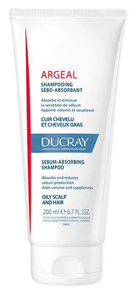 Argeal Sebum-absorbing treatment shampoo | Ducray