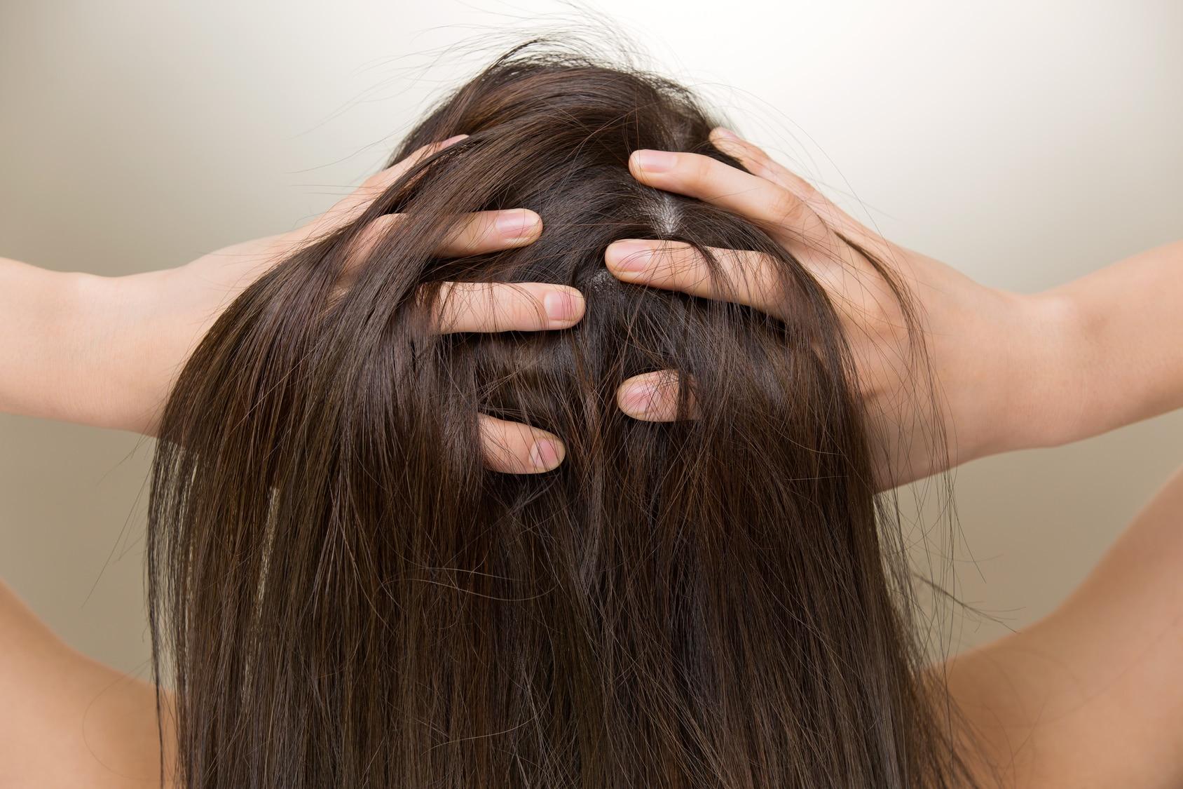 Trockene und juckende Kopfhaut