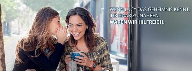 MEINE PFLEGEROUTINE FÜR TROCKENES HAAR