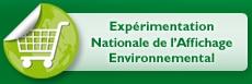 logo experimentation nationale affichage environnemental