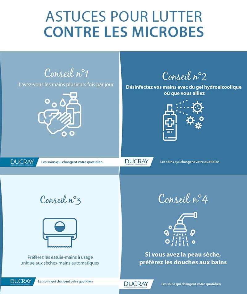 Astuces pour lutter contre les microbes