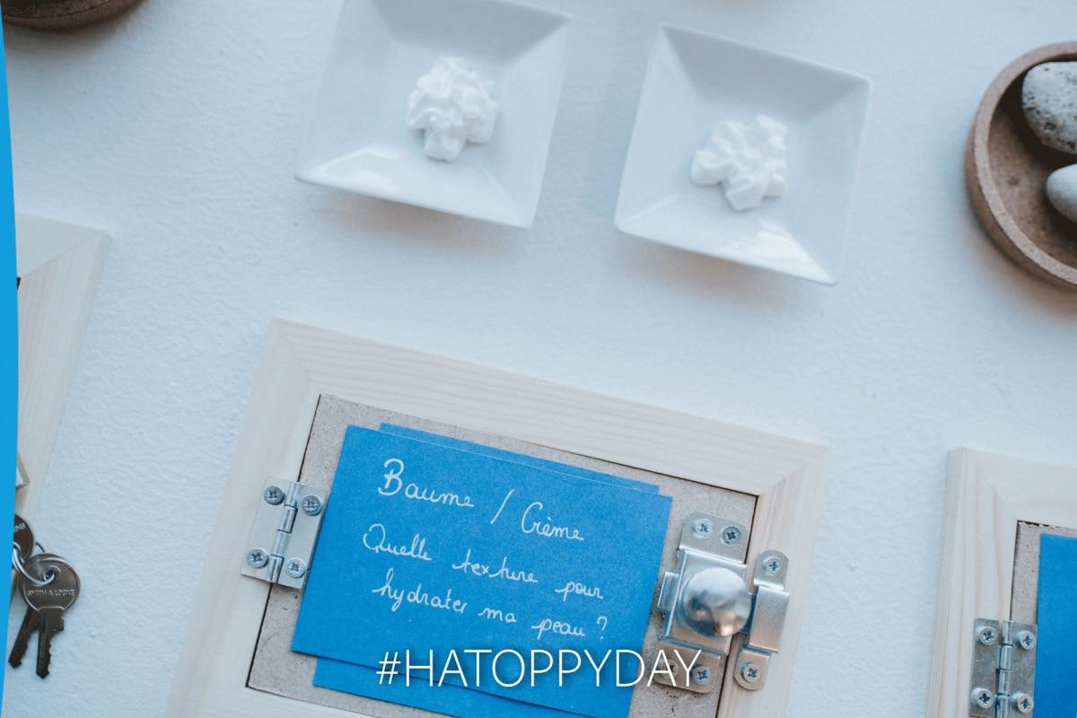 Bar à textures de crèmes émollientes pour découvrir les soins ducray
