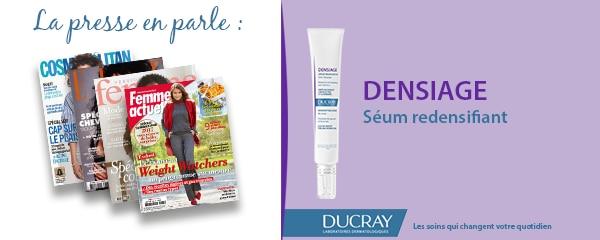 La presse parle de Ducray : Sérum redensifiant Densiage