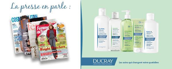 Ducray cité pour les formules biodégradables de ses shampooings