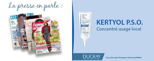 La presse parle de Ducray : Concentré usage local Kertyol P.S.O