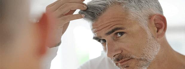 La mia routine anti-età per i capelli (fase d'attacco) - UOMO