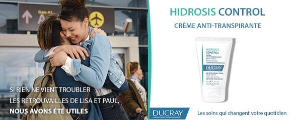Est-ce que la crème HIDROSIS CONTROL peut s'utiliser au niveau du front ?