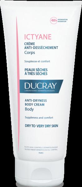 Ducray Ictyane crème anti déssèchement peau sèche