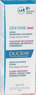 Dexyane MeD Soothing repair cream 100ml - Box