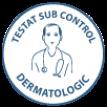 Testat sub control dermatologic